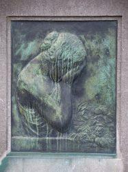 Bas-relief – Monument funéraire Smalle-Richer – Cimetière – Jette