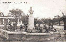 Buste du roi Léopold II – Kinshasa – Congo (déplacé)