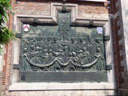 Bas-relief – église St-Michel – Kortrijk (Courtrai)