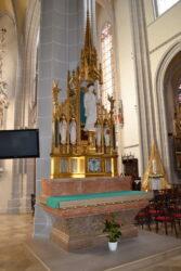 Autel – cathédrale Sainte-Elisabeth – Košice (Slovaquie)