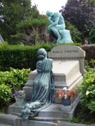 Pleureuse – sépulture famille D'Hayere-Schotte – cimetière – Laeken
