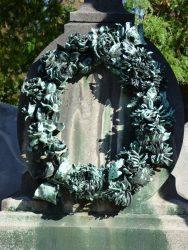 Couronne mortuaire – cimetière – Laeken