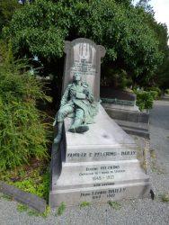 Monument à Max Pelgrims – cimetière – Laeken