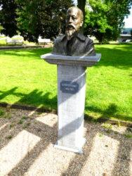 Buste d'Auguste Donnay – Parc de La Boverie – Liège