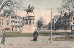 Monument à Charlemagne – Boulevard d'Avroy – Liège