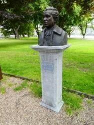 Buste de Richard Heintz – Parc de la Boverie – Liège