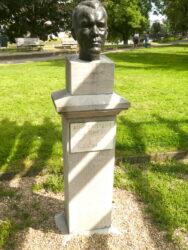 Buste de Joseph Joset – Parc de La Boverie – Liège