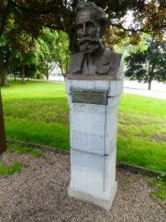 Buste d'Adrien De Witte – Parc de la Boverie – Liège