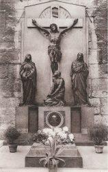 Calvaire – Tombeau du Frère Mutien-Marie – Malonne (disparu)