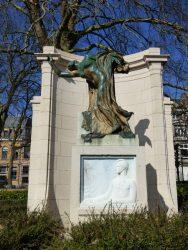 Mémorial Max Waller – square Ambiorix – Bruxelles