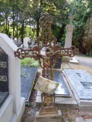 Croix funéraire – cimetière – Merkem (1)