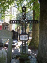 Croix funéraire – cimetière – Merkem (2)