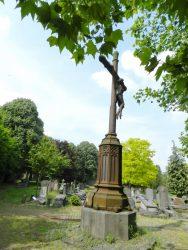 Christ en croix – Cimetière – Molenbeek-Saint-Jean