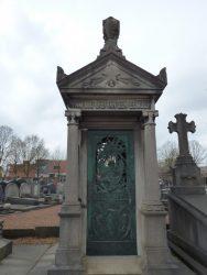 Chapelle funéraire -famille Van den Bemden– Cimetière – Molenbeek-Saint-Jean