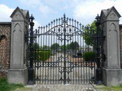 Grilles – cimetière – Molenbeek-Saint-Jean