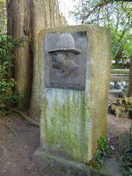 Monument à Arthur Cantillon – parc du Waux-Hall – Mons