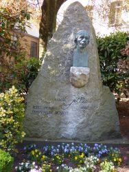 Buste de Marcel Gillis – Jardin du Mayeur – Mons