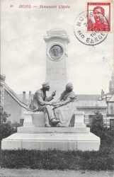 Monument à Henri Glépin – Mons