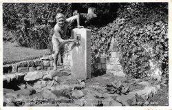 Le Ropieur – Fontaine – Jardin du Mayeur – Mons