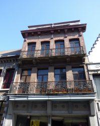 Balcons – Rue d'Havré – Mons