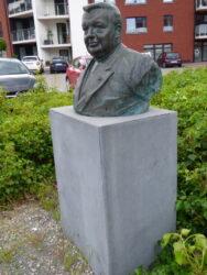 Buste d'Auguste Lannoye – Mont-Saint-Guibert