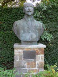Buste de Louis Morichar – Saint-Gilles