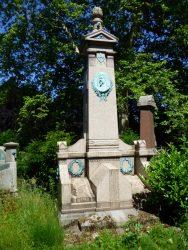Monument funéraire de Joseph Naert – cimetière de Bruxelles – Evere