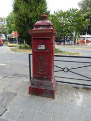Borne postale – rue de Fer – Namur