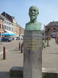 Buste d'Emile de Lalieux de La Rocq – Nivelles