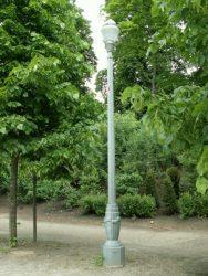 Lampadaire – Parc royal –  Bruxelles
