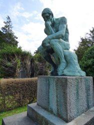 Le Penseur – sépulture Dillen – cimetière – Laeken
