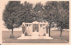 Monument aux morts – Ramegnies-Chin