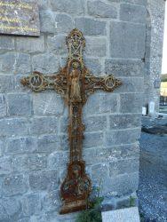 Croix funéraire – cimetière – Rance