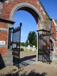 Fonte funéraire diverse – cimetière – Ruisbroek