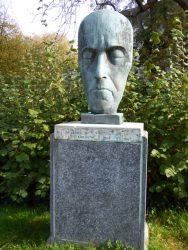 Masque de Charles Plisnier – Saint-Gilles