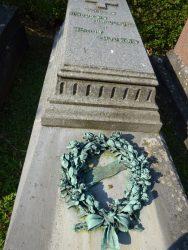 Couronne mortuaire – cimetière de Saint-Gilles – Uccle
