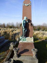 Pleureuse – Tombe Sternon – cimetière de Saint-Gilles – Uccle