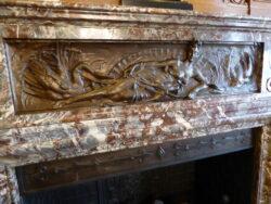 Léda et le cygne – Bas-relief – Hôtel communal – Schaerbeek