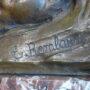 Léda et le cygne - Bas-relief - Hôtel communal - Schaerbeek - Image4