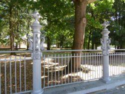 Grilles – Jardin de la Basilique –  Scherpenheuvel (Montaigu)