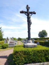 Christ en croix – cimetière – Sint-Pieters-Leeuw