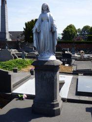 Vierge immaculée  – Cimetière Sud – Soignies