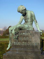 Tombe Huart-Tegelbeckers – cimetière de Saint-Gilles – Uccle