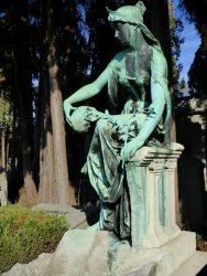 Allégorie – Tombe Louvois – cimetière de Saint-Josse-ten-Noode – Schaerbeek