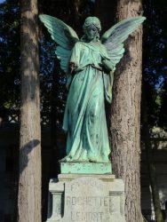 Ange – Tombe Rochette-Lemort – cimetière de Saint-Josse-ten-Noode – Schaerbeek