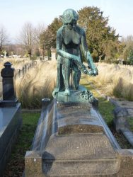 Tombe Henri Van Laer – Cimetière de Saint-Gilles à Uccle