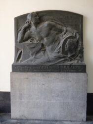 Plaque commémorative – Arthur Bruylants – Tienen (Tirlemont)