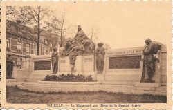 Monument aux morts – Tournai