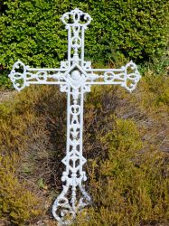 Croix funéraire – cimetière du Nord – Tournai (2)