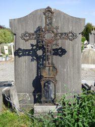 Croix funéraire – cimetière du Nord – Tournai (1)